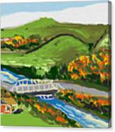 A Fresh Weekend Away Canvas Print