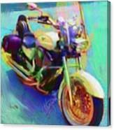 A Friends Ride Canvas Print
