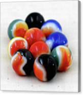 A Fun Game Of Marbles Canvas Print