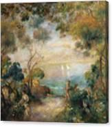 A Garden In Sorrento Canvas Print