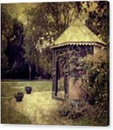 A Garden Somewhere Canvas Print