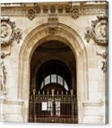 A Gate To The Opera  Canvas Print