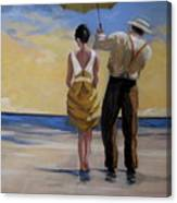 A Gentleman And His Lady Canvas Print
