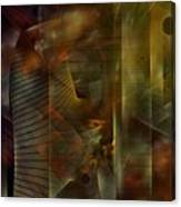 A Ghost In The Machine Canvas Print