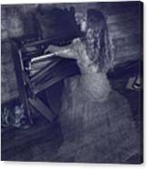 A Ghostly Tune Canvas Print