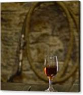 A Glass Of Woodford Canvas Print