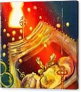 A Glimpse Through The Keyhole Canvas Print