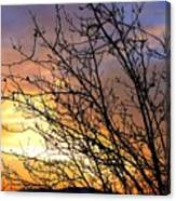 A Glorious Sky Canvas Print