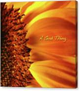 A God Thing-2 Canvas Print