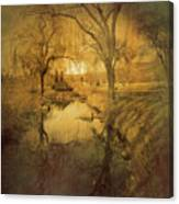 A Golden Winter 2 Canvas Print