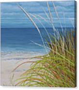 A Good Day For Beachcombing Canvas Print