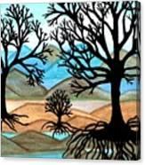 A Good Foundation Canvas Print