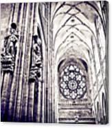 A Gothic Church Canvas Print