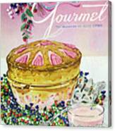 A Gourmet Cover Of A Souffle Canvas Print