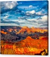 A Grand Canyon Sunset Canvas Print