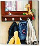 A Grandsons Prized Possessions Cubs Canvas Print
