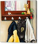 A Grandsons Prized Possessions Pirates Canvas Print