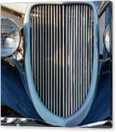 A Grille With A Smile Canvas Print