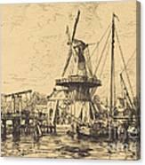 A Haarlem Canvas Print