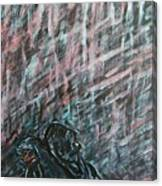 A Hard Rain Gonna Fall Canvas Print