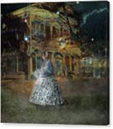 A Haunted Story In Dahlonega Canvas Print