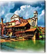 A Hidden Place In Venice Canvas Print