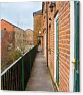 A High Walkway/alleyway Canvas Print