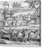 Chariot Of Apollo Canvas Print