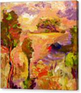 A Joyous Landscape Canvas Print