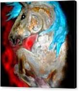 A Knights Dream II Canvas Print