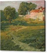 A Landscape In Vicinity Of Strijigorod Canvas Print