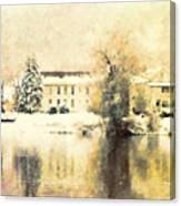 A Late Winter Xvi Canvas Print