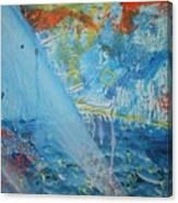 A Light Shines Down Canvas Print
