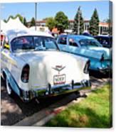 A Line Of Classic Antique Cars 3 Canvas Print