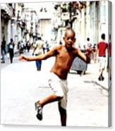 A Little Bit Of Cuba - 8 Canvas Print