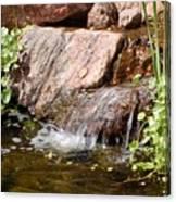 A Little Waterfall Canvas Print