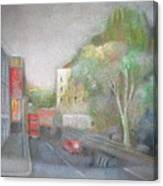 A London Street Canvas Print