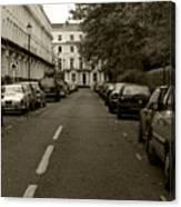 A London Street II Canvas Print