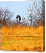 A Lonely Windmill Canvas Print