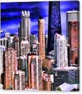 A Look At Chicago Canvas Print