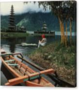 A Magic Moment On The Island Of Bali Canvas Print