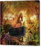 A Magical Boat Ride Canvas Print