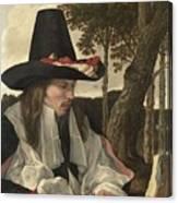 A Man Reading, Anonymous, C. 1660 Canvas Print