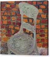 A Meeting Chair Canvas Print