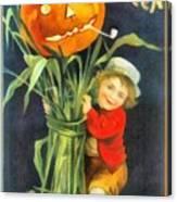 A Merry Halloween Canvas Print