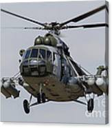 A Mil Mi-17 Helicopter Of The Czech Air Canvas Print