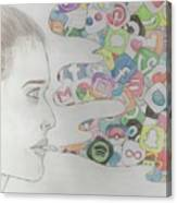 A Modern Drug Canvas Print