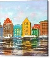 A Modern Take On Curacao Canvas Print