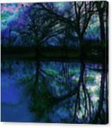 A Monet Kinda Day Canvas Print