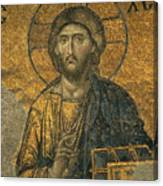A Mosaic Of Jesus The Christ At St Canvas Print